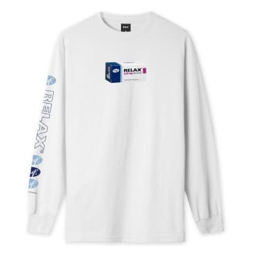 Relax L/S Tee | White