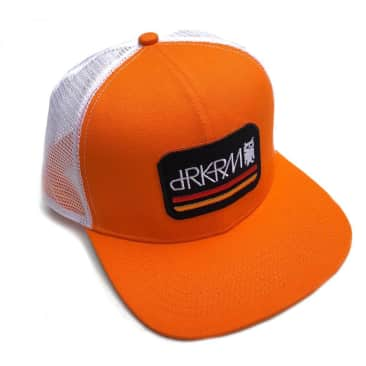 Darkroom Rover Mesh Cap - Orange / White