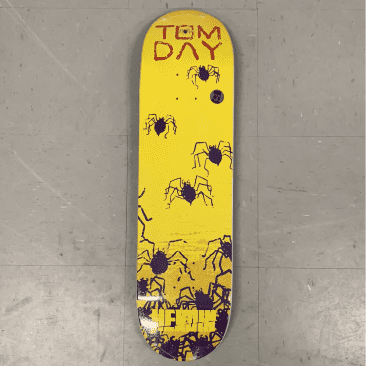 Heroin Skateboards Tom Day Giallo Deck 8.5