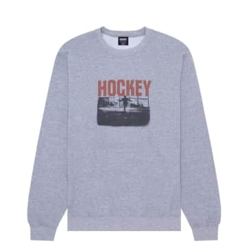 Hockey Allens Inferno Crewneck - Ash