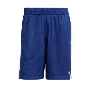 adidas Skateboarding Basketball Shorts - Victory Blue / Orbit Violet / White