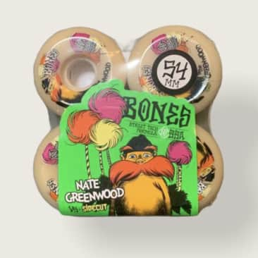Bones STF The Greenwood Sidecuts 54mm