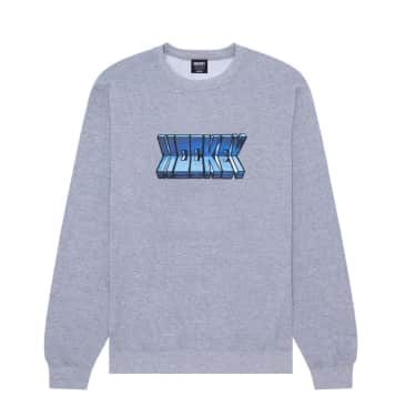 Hockey Fold Crewneck - Heather Grey