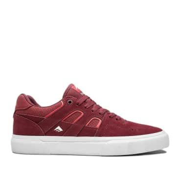Emerica Tilt G6 Vulc Skate Shoes - Brick / White