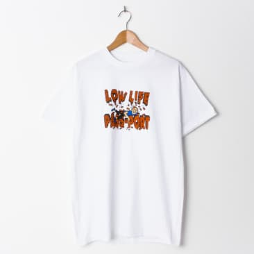 Pass~Port L.L. Brick Tee T Shirt White