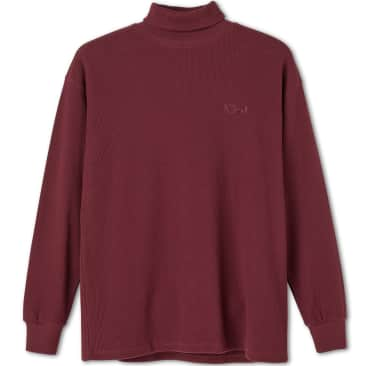Polar Skate Co Shin Turtleneck - Wine