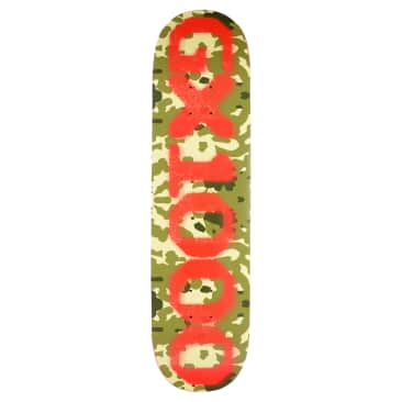 GX1000 OG Forest Camo Skateboard Deck - 8.625""