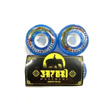 Satori Wheels Lil Nuggs Blue 54mm 78a