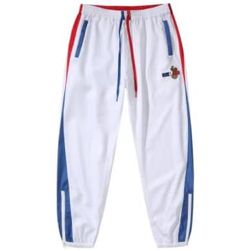 Hélas Supporter Tracksuit Pant - White