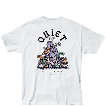 The Quiet Life Sounds T-Shirt - White