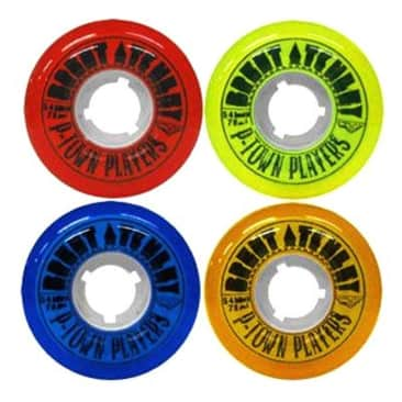 Satori Wheel Movement Pro Brent Atchley P-Town Players Multi Color Soft Wheels 78a - 54mm