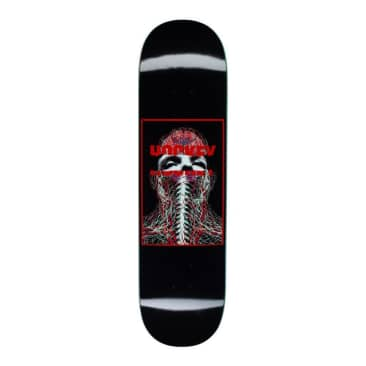 "Hockey Skateboards - 8.25"" John Fitzgerald Nerves Deck (Black)"