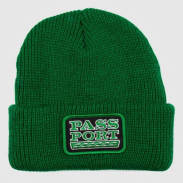Pass~Port Auto Patch Beanie - Kelly Green