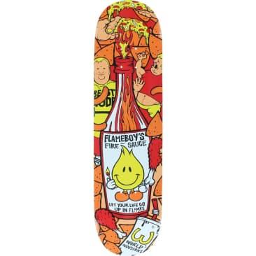 """World Industries Flame Boy 'Fire Sauce' Skateboard Deck 8"""""""