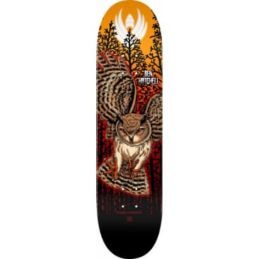 Powell Peralta Ben Hatchell Owl 2 Flight® Skateboard Deck 8.5""