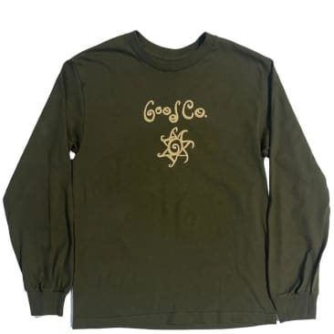 The Good Company Swirl Long Sleeve T-Shirt - Olive