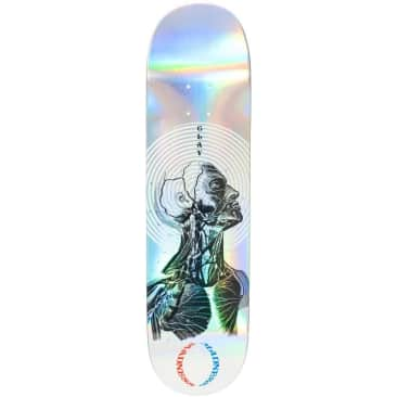 """Madness Skateboards Clay Inside Out Holographic Impact Light Deck 8.25"""""""