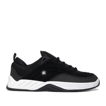 DC Williams Slim Skate Shoes - Black / White / Grey
