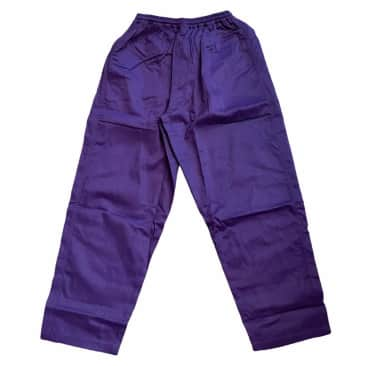 Southside 94 Script Pant Embroidered Purple