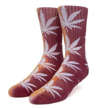 HUF Tie Dye Plantlife Socks Orange