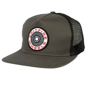 SPITFIRE Classic 87' Swirl Patch Trucker Hat Charcoal