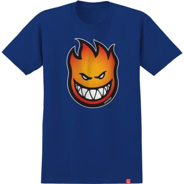 SPITFIRE Youth Bighead Fade Tee Royal