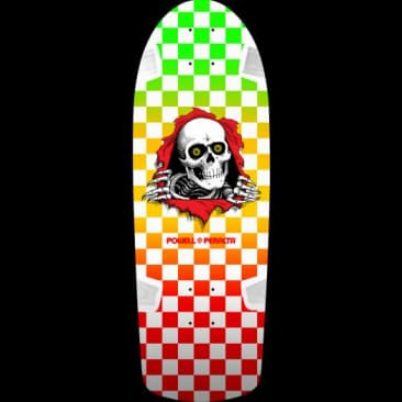 "Powell - OG Ripper Checker Multi-Color Deck (10"")"