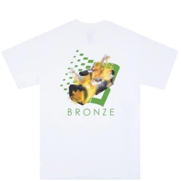Bronze 56k VX B Logo T-Shirt - White