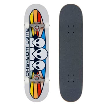 Alien Workshop Spectrum Complete Skateboard Grey 7.75""