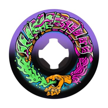 Santa Cruz Skateboards - Slime Balls Greetings Speed Balls Swirl 99A 54MM