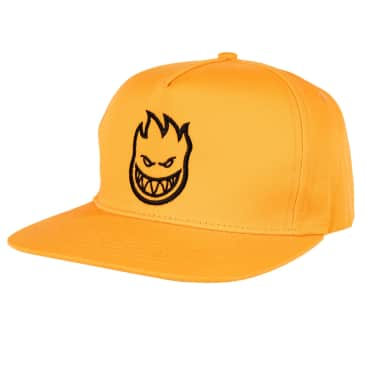 SPITFIRE Bighead Snapback Hat Orange/Black