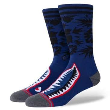 STANCE TROPICAL WARBIRD SOCK - BLUE