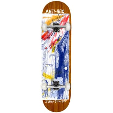 Anti Hero - Stranger SF Then And Now - Complete Skateboard - 8.4''