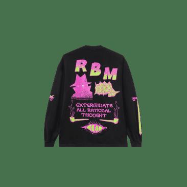 Real Bad Man Exterminate Long Sleeve T-Shirt - Black