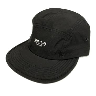 The Quiet Life Foundation Camper Panel Hat - Black