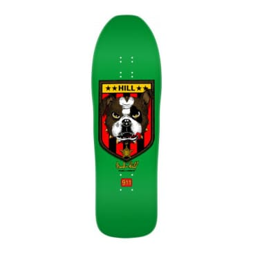 "Powell Peralta Hill Bulldog 10"" Deck - Reissue"