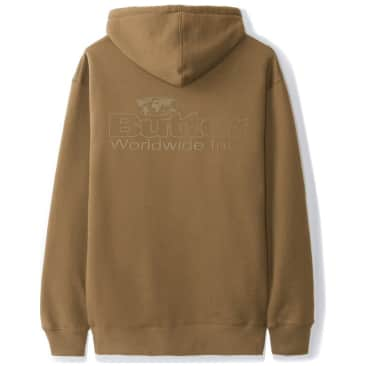 Butter Goods Incorporated Logo Hoodie - Saddle