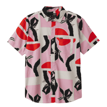 Charter Print | Pink/Red