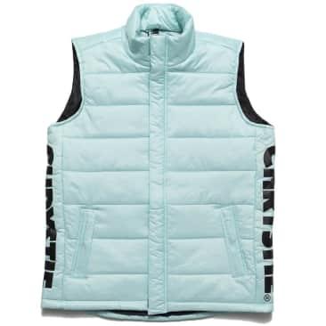 Chrystie NYC OG Logo Puffer Vest - Light Blue