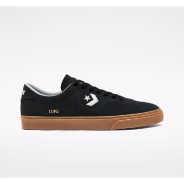 Converse Cons Grid Perf Louie Lopez Pro Skate Shoes - Black / White / Gum