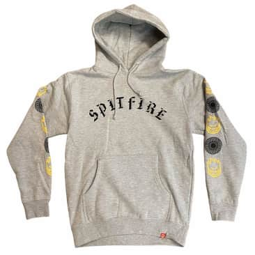 Spitfire Hoodie Old E Combo Silver Grey