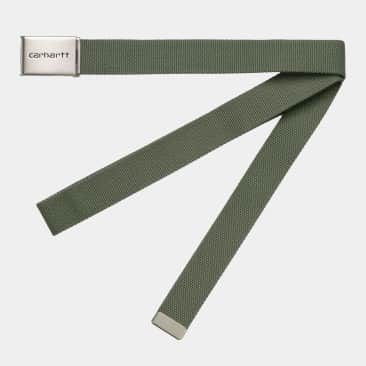 Carhartt WIP Clip Belt Dollar Green