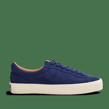 Last Resort AB VM002 Suede Lo Skate Shoes - Deep Blue / White