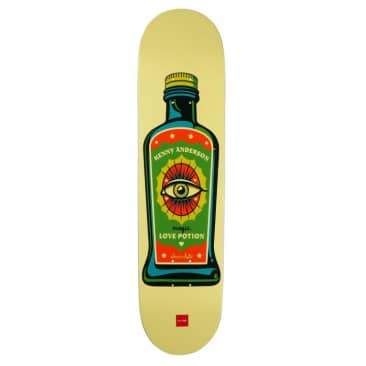 Chocolate Skateboards Hecox Essentials Kenny Anderson Skateboard Deck - 8.25