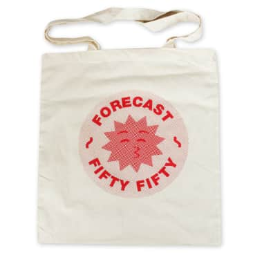 Fifty Fifty X Fore-Cast Tote Bag