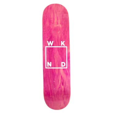 WKND Logo White Assorted Colors Skateboard Deck - 8.6""