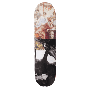 """Poetic Collective - Poetic Collective Half and Half #1 Skateboard Deck   8.375"""""""