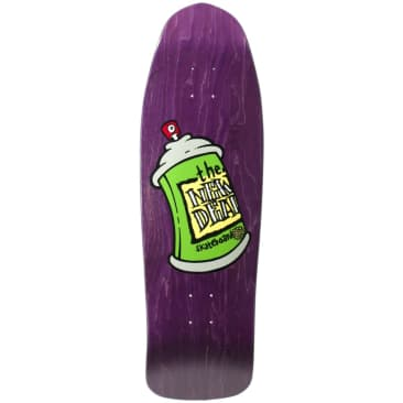 """New Deal Spray Can SP Deck 9.75"""" Purple"""