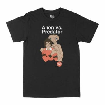 SKATEMENTAL ALIEN VS PREDATOR TEE - BLACK