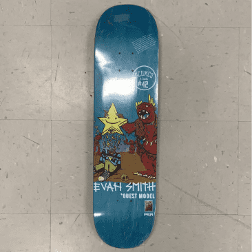 Scumco and Sons Evan Smith Guest Skateboard Deck